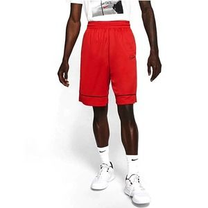 🏀 CLASSIC BASKETBALL SHORTS RED/BLACK NIKE (XXL)